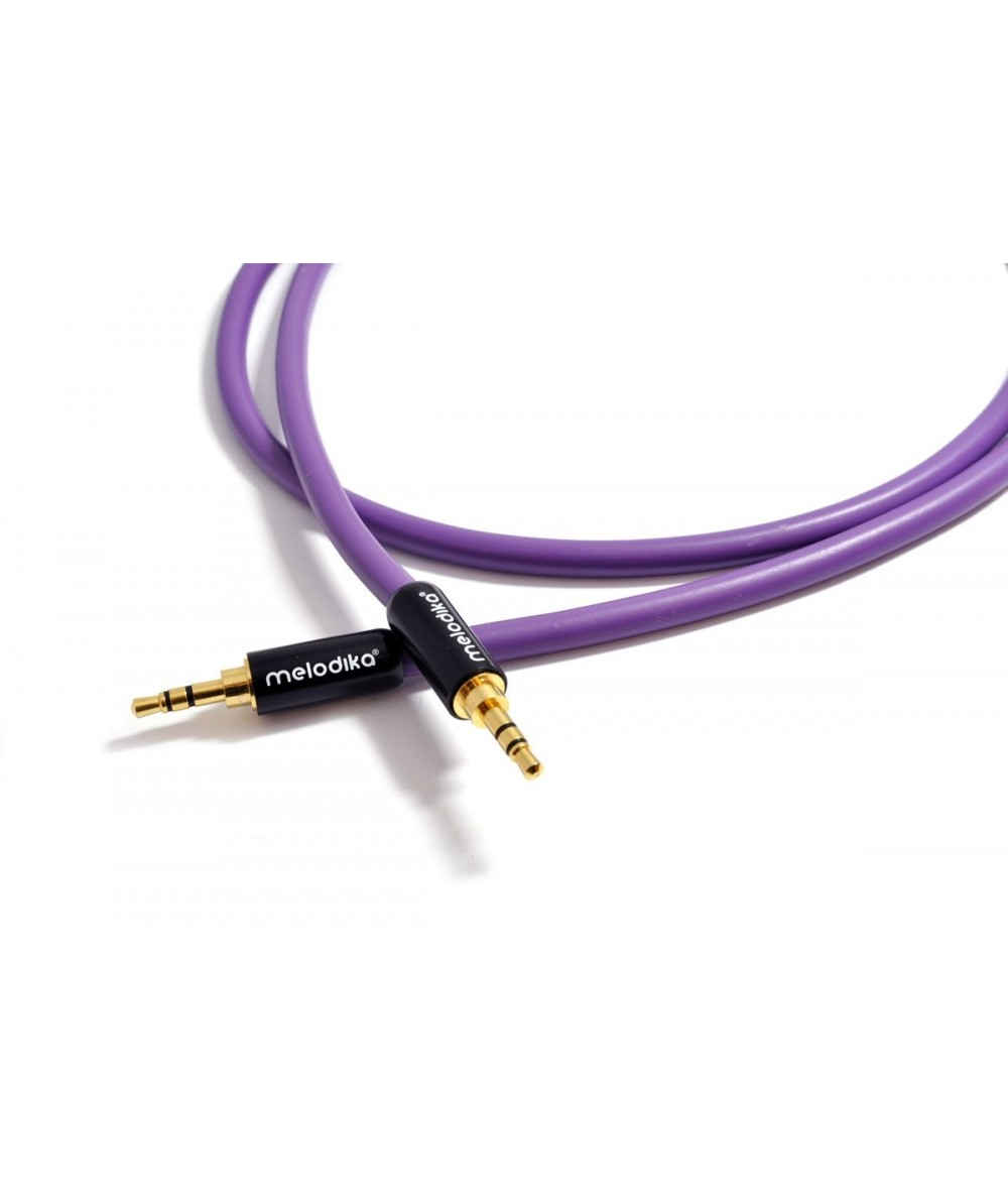 Melodika Purple Rain 3,5mm - 3,5mm kabelis - Mini Jack
