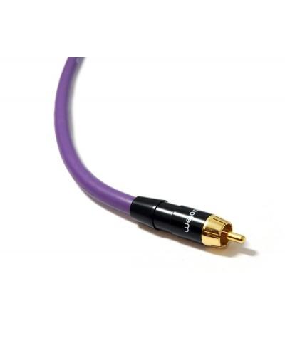Žemų dažnių kolonėlės kabelis Melodika Purple Rain