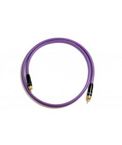 Melodika Purple Rain žemų dažnių kolonėlės kabelis - Kabeliai žemų dažnių kolonėlėms