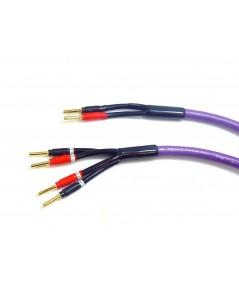 Melodika Purple Rain Bi-wire kolonėlių kabelis - Kolonėlių kabeliai su antgaliais