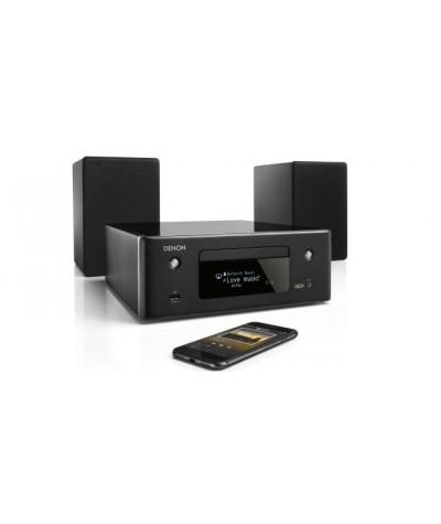 Denon CEOL N10 mini HiFi garso sistema su HEOS bei Amazon Alexa - Mini HiFi sistemos