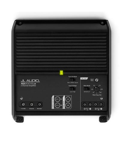 JL AUDIO XD200/2V2 2 kanalų stiprintuvas - Stiprintuvai
