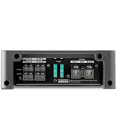 Focal FPX 4.400 SQ 4 kanalų stiprintuvas - Stiprintuvai