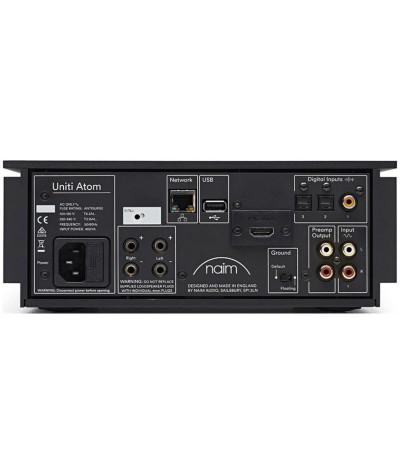 Naim Uniti Atom HDMI garso stiprintuvas su tinklo grotuvu - Stereo stiprintuvai