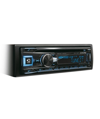 Alpine CDE-173BT CD grotuvas su USB