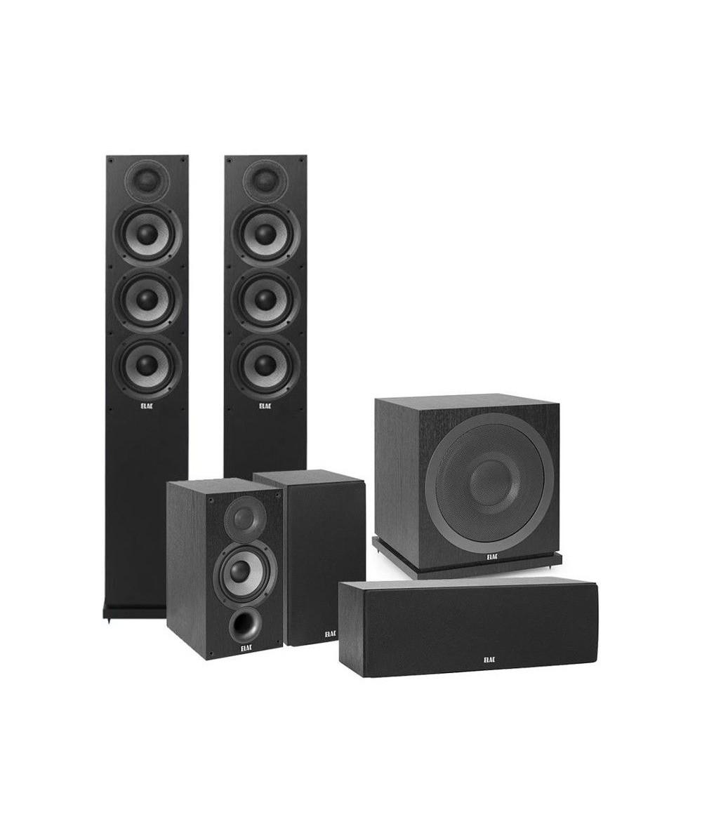 ELAC Debut 2.0 5.1 namų kino kolonėlių sistema - Kolonėlių komplektai