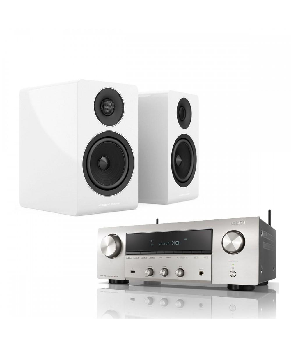 DENON DRA-800H + Acoustic Energy AE300 - Stereo komplektai