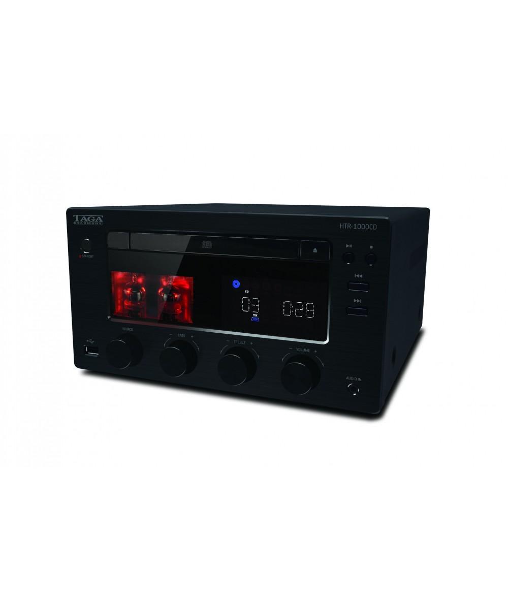 TAGA Harmony HTR-1000CD muzikos grotuvas su CD, Bluetooth, USB - Stereo stiprintuvai