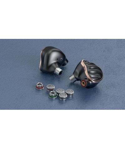 FiiO FH7 in-ear ausinės su 5 garsiakalbiais - Įstatomos į ausis (in-ear)