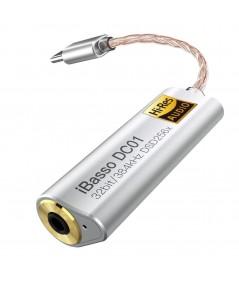 iBasso DC01 nešiojamas ausinių stiprintuvas / DAC - Ausinių stiprintuvai