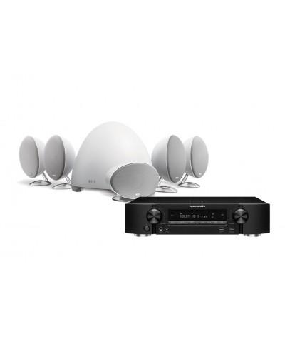 Marantz NR1510 + KEF E305 5.1 namų kino sistema - Namų kino sistemos