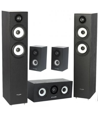 Pylon Audio Pearl 5.0 namų kino kolonėlių komplektas - Kolonėlių komplektai