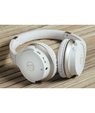 Audio-Technica ATH-AR3iS ausinės, uždedamos ant ausų, su mikrofonu - Dedamos ant ausų (on-ear)