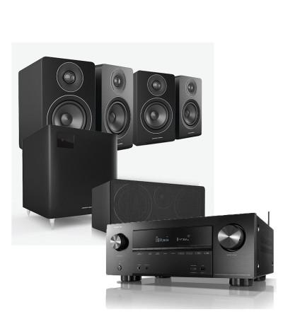 Denon AVR-X2700H + Acoustic Energy AE100 5.1 namų kinas - Namų kino sistemos