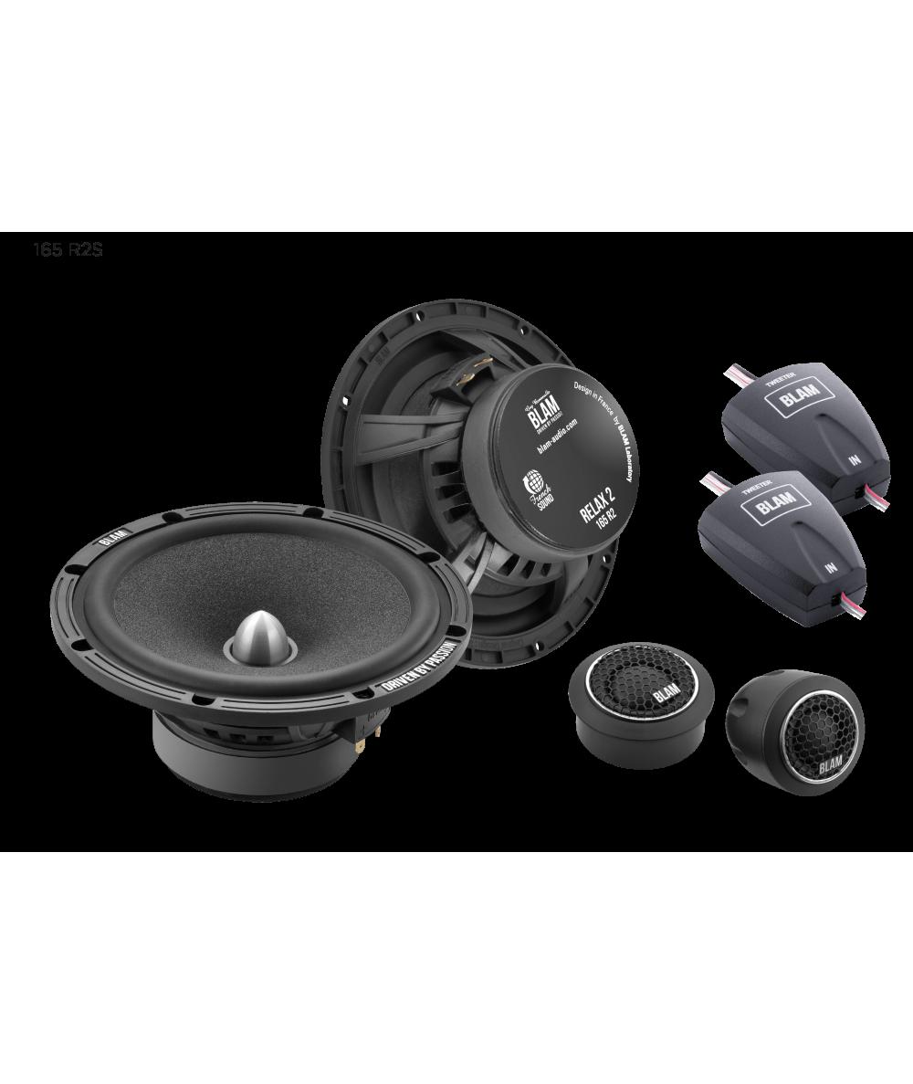 BLAM Relax 165RS komponentiniai garsiakalbiai automobiliui - Komponentiniai garsiakalbiai