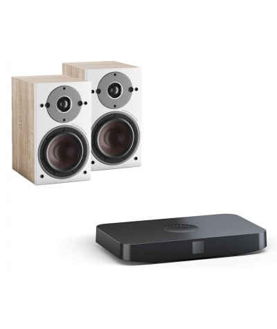 DALI Oberon 1C + Sound Hub aktyvi stereo sistema - Aktyvios kolonėlės