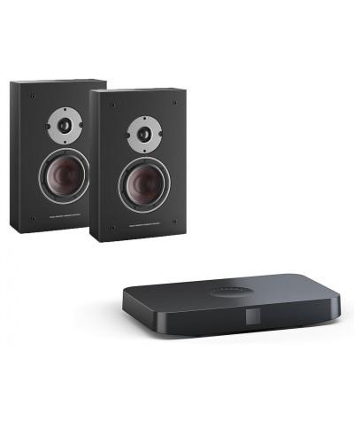 DALI Oberon OW C + Sound Hub aktyvi stereo sistema - Aktyvios kolonėlės