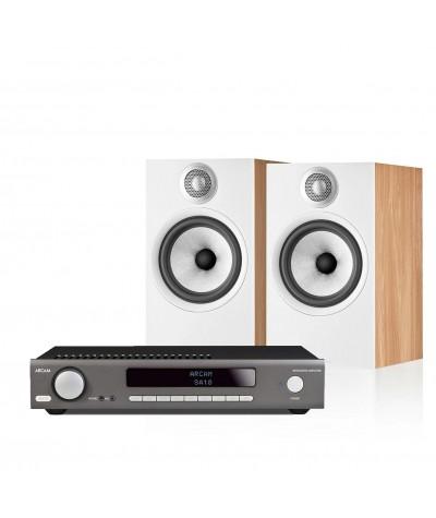 Arcam SA10 + Bowers&Wilkins 606 S2 Anniversary - Stereo komplektai