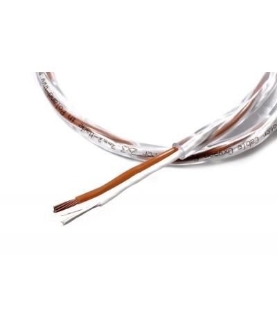 Melodika Brown Sugar 2x3.3mm2 kolonėlių kabelis - Matuojami kolonėlių kabeliai