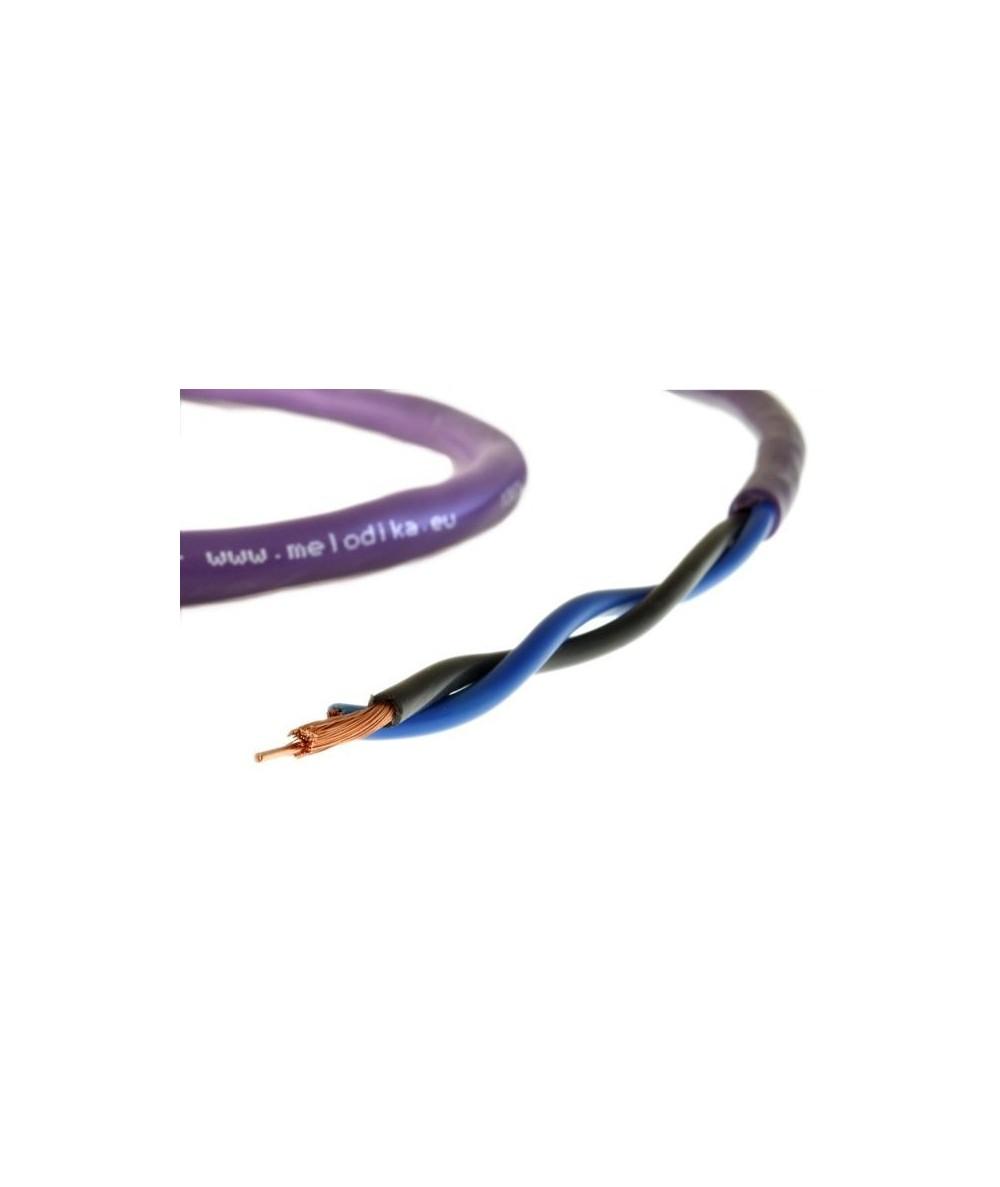 Melodika Purple Rain 2x1,5mm2 kolonėlių kabelis - Matuojami kolonėlių kabeliai
