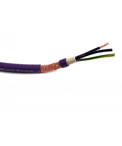 Melodika Purple Rain maitinimo kabelis 3x1,5mm2 - Maitinimo kabeliai