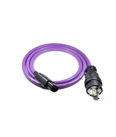Melodika Purple Rain maitinimo kabelis su antgaliais - Maitinimo kabeliai