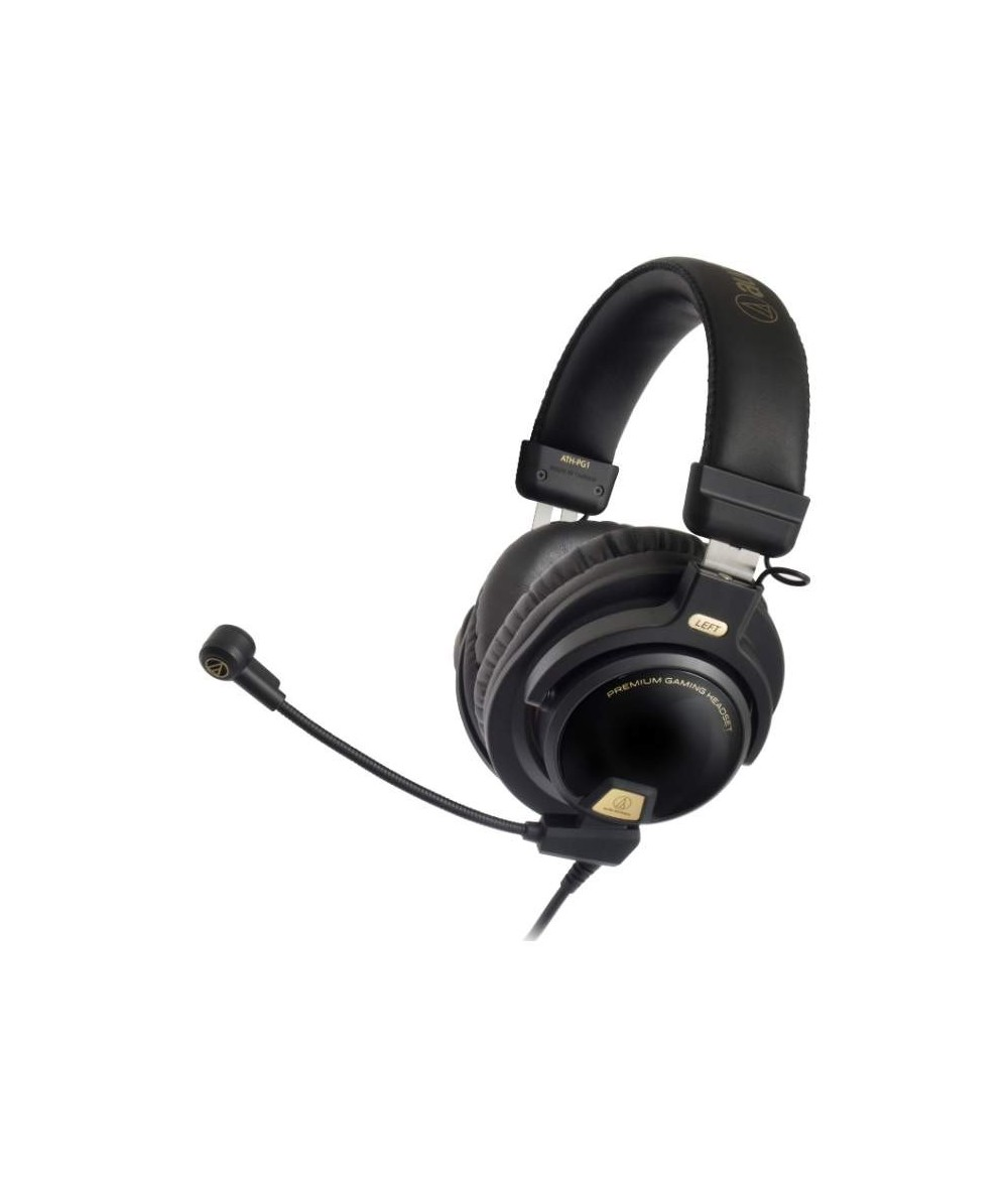Audio-Technica ATH-PG1 on-ear ausinės su mikrofonu uždaros - Dedamos ant ausų (on-ear)