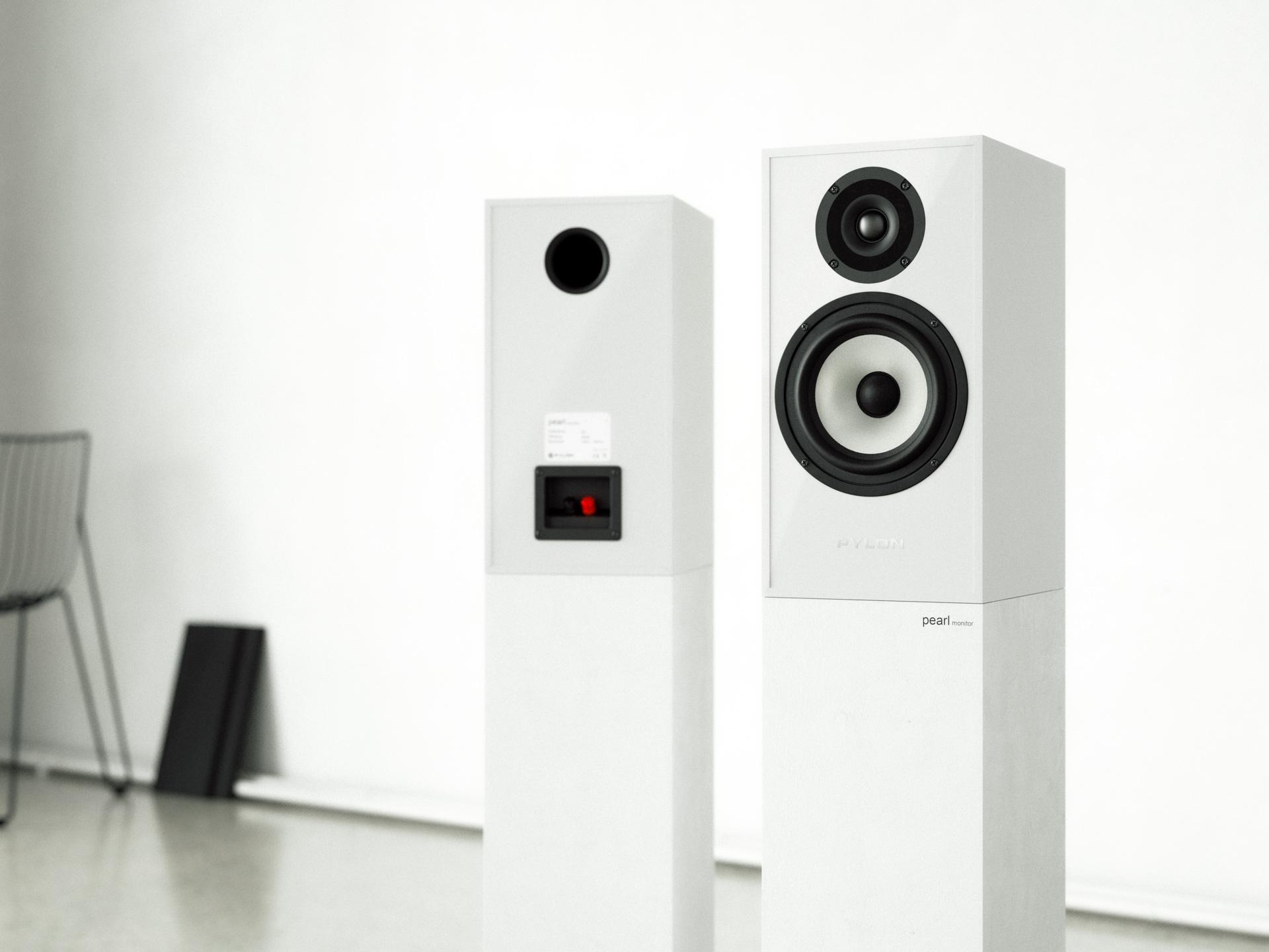 pylon audio pearl monitor lentynines koloneles